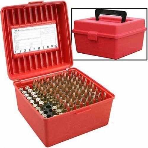 MTM Deluxe Military Rounds Shell Hard Case Tactical Cartridge Box Heavy Duty Storage
