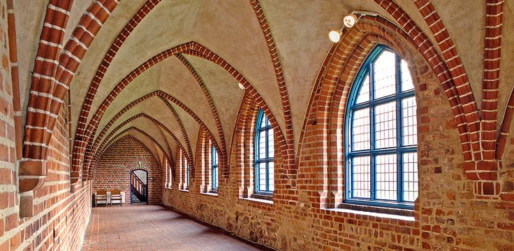 THE ABBEY IN YSTAD The Franciscan monastery was founded in 1267 and is together with Vadstena monastery the best kept monastery in Sweden.