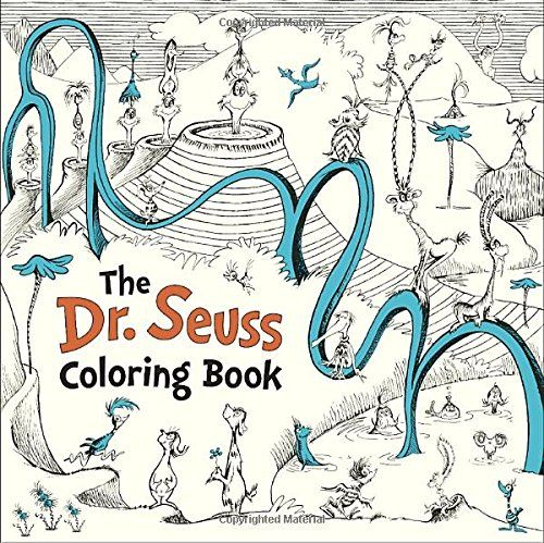 The Dr Seuss Coloring Book By Images From Work Of