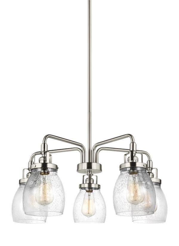 3114505-962,Five Light Chandelier,Brushed Nickel