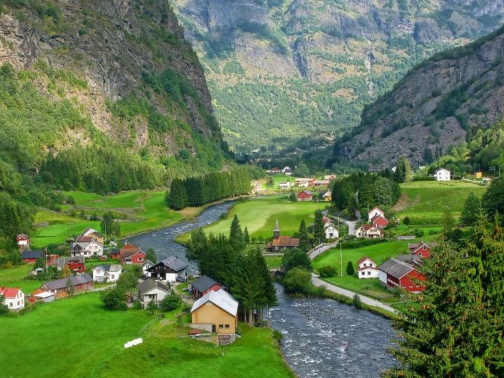 Aurland, Норвегия