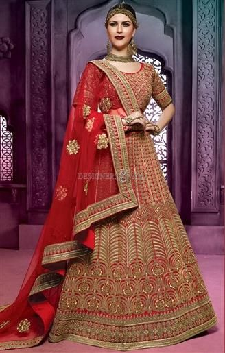 Buy online best patterns indian bridal lehenga design for bridesmaids #Traditional #Wedding #Vogue #Awesome #Interesting #Inspiring #Freshness #Best #Indian Style #Collection #Beautiful