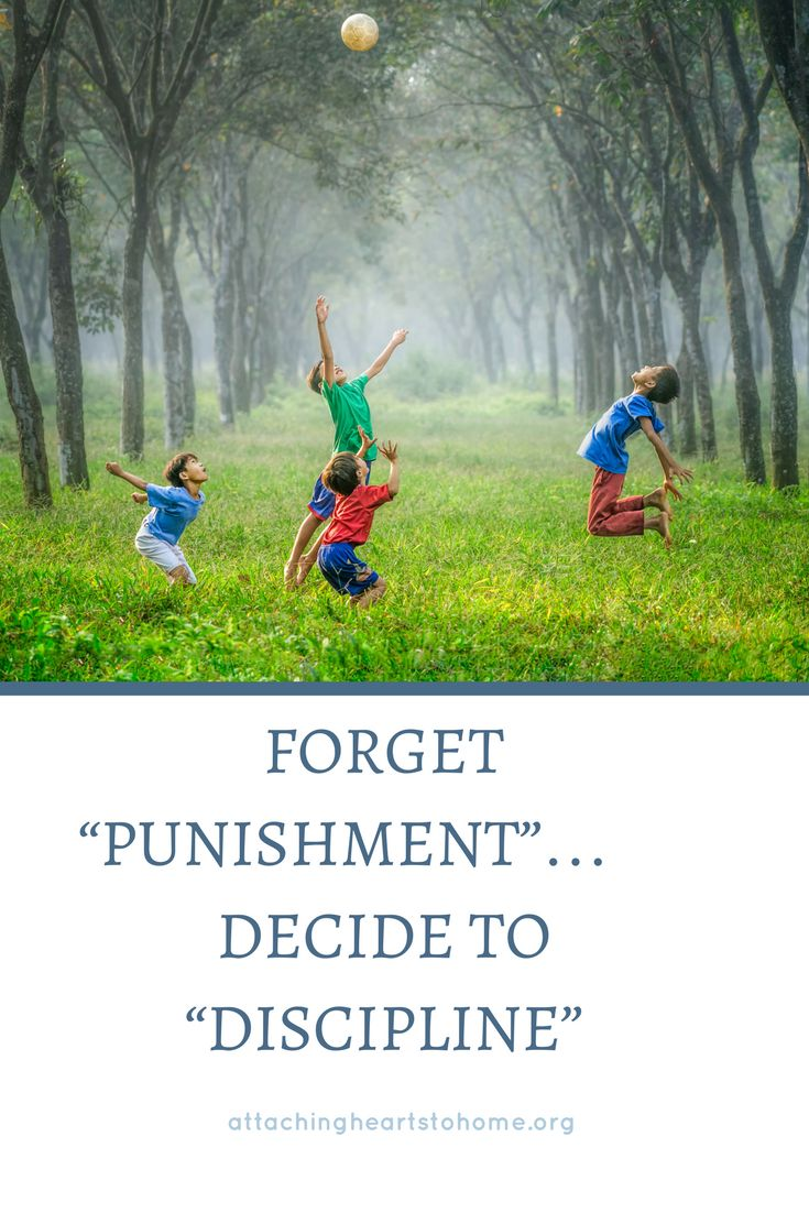 Discipline for children doesn't need to be punishment. Find out how to discipline your child effectively