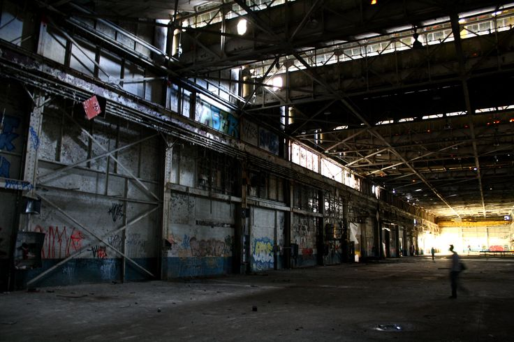 Derelict Factory Inside Google Search Ether One