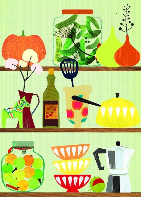 kitchen shelf by Elisandra