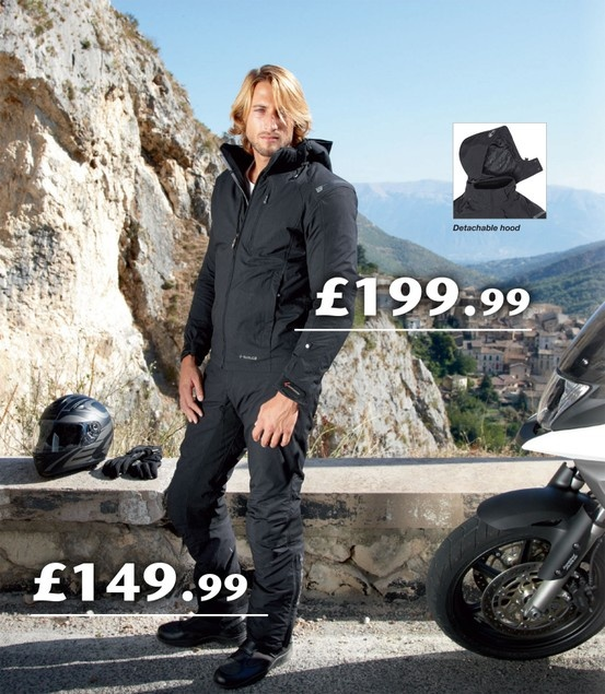 We have just lauched a superb offer:  #Held  Gore-Tex motorcycle jacket and trousers for £399.98 together!  The  #Held #Goretex  jacket can be found here: http://www.getgeared.co.uk/Motorcycle_Jackets-HELD_Motorcycle_Jacket_Gore-Tex_6140_Novara_Blk  The  #Held #Goretex  trousers can be found here: http://www.getgeared.co.uk/Motorcycle_Trousers-HELD_Motorcycle_Trousers_Gore-Tex_6160_Dorna_Blk