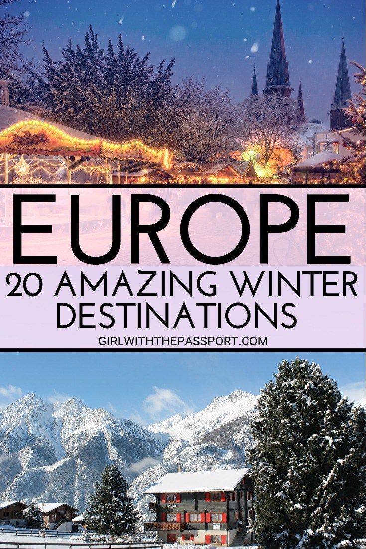 must see places in europe in winter | europe travel | pinterest