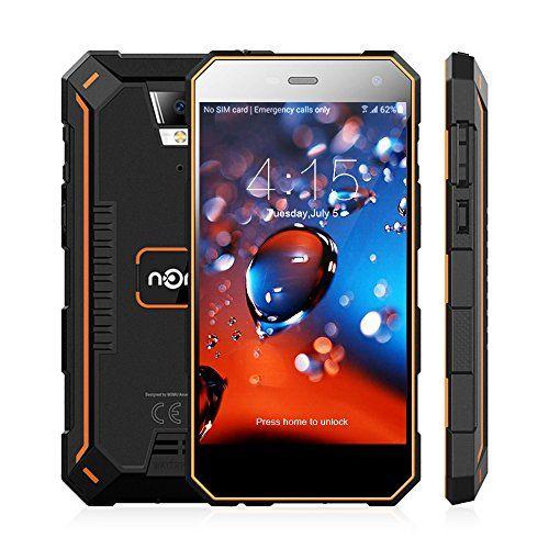 Nomu S10 PRO Smartphone Ohne Vertrag Outdoor Handy mit Dual SIM 5.0 Zoll, 4G Android 7.0, 3GB RAM+32GB ROM, IP68, Quad Core, 5000mAh 8.0MP Hauptkamera Wasserdichtes Staubdichtes Stoßfestes (Orange) #Nomu #Smartphone #Ohne #Vertrag #Outdoor #Handy #Dual #Zoll, #Android #RAM+GB #ROM, #Quad #Core, #Hauptkamera #Wasserdichtes #Staubdichtes #Stoßfestes #(Orange)