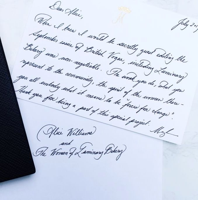 Meghan Markle Showcases Her Exquisite Handwriting In A Letter To