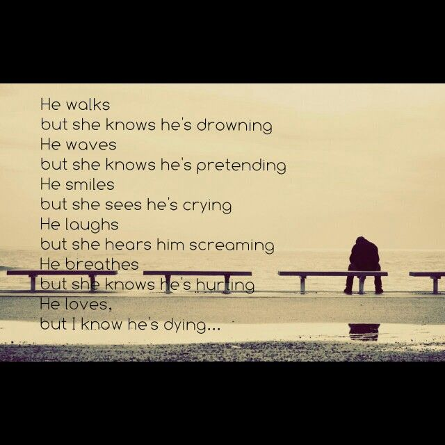 Sad Quotes About Depression: Heart Of A Broken Man...