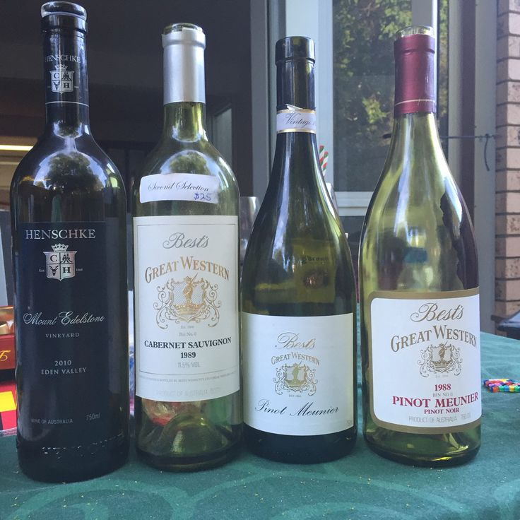 Christmas celebrations with friends - what a great line up of wines.