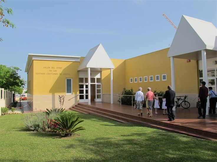 Kingdom Hall,  Huelva, Spain.   Would love to visit! Salon del Reino de los Testigos Cristianos de Jehova.