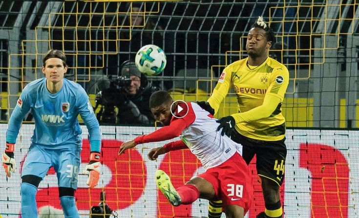 Watch Football - Soccer Highlights: Borussia Dortmund vs Augsburg Highlights, All Goals Video in HD, Bundesliga, 26 February 2018 - FootballVideoHighl...