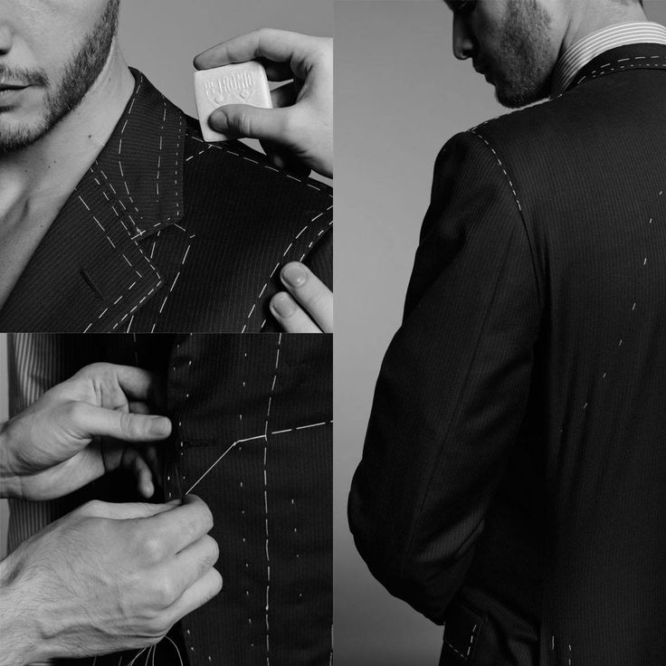 Behind the scene  The creation of a Larusmiani jacket takes our 40 master tailors at least 24 hours and 21 steps carried out entirely by hand. #since1922