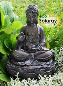 Buddha Water Fountain #5 - Outdoor Buddha Water Fountain Solar
