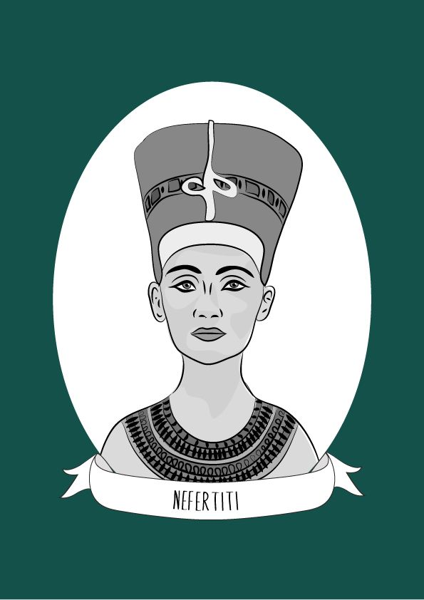 Neferneferuaten Nefertiti was an Egyptian queen. Nefertiti ruled alongside her husband, Pharaoh Akhenaten from 1353 to 1336 B.C. She may have ruled the New Kingdom on her own after her husband's death. Nefertiti and her husband were responsible for...