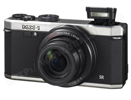 Appareil photo numérique compact PENTAX MX-1 silver