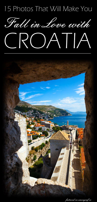 15 Photos That Will Make You Fall in Love with Croatia #Travel #Croatia