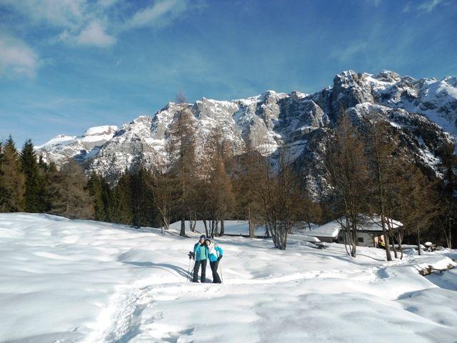 #neve e #ciaspole in #trentino #dolomiti