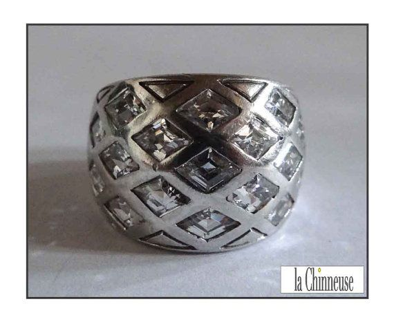 VNTAGE  STERLING SILVER Ring /Bague en Argent & by LaChinneuse