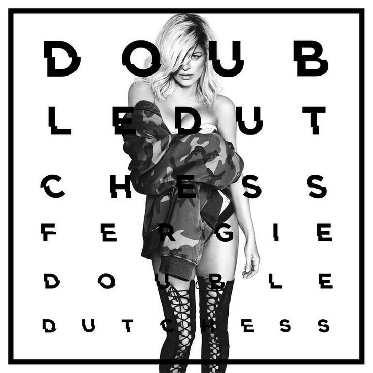 Thank you Fergie 🙌🏼!  We have a Double Dutchess album cover, and a drop date: Jan 2017!