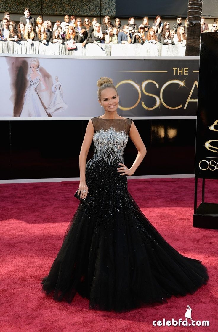 Kristin Chenoweth-Oscars 2013 Red Carpet