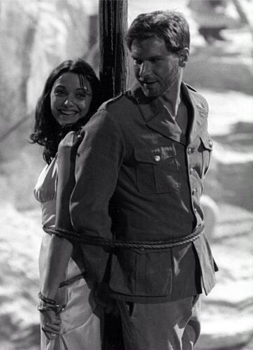 Harrison Ford and Karen Allen, Raiders of the Lost Ark.