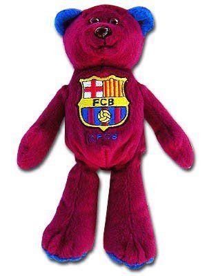 Barcelona F.C. Beanie Bear