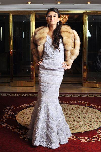 Каролина Сафина Бал дебютанток-2012