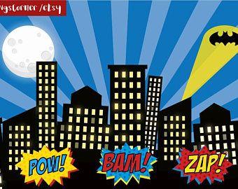 Superhero Backdrop, Superhero Party, SuperHero Birthday, Banner, Super hero, Super hero Photo Booth, Superhero Background, Superhero