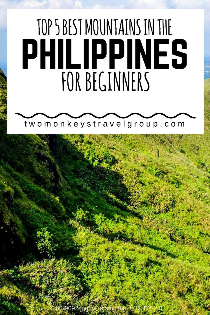 Top 5 Best Mountains In The Philippines For Beginners The Philippines The O Jays And Philippines