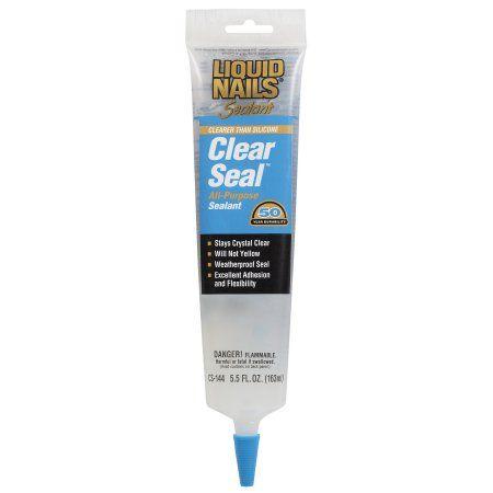 Liquid Nails Clear Seal All-Purpose Sealant