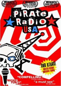 Pirate Radio USA - learn the real story about how the USA has now taken away more rights from citizens and use the Pirate Radio as scapegoats for various issues.  The mega corporations that own the airwaves will not be thwarted - they own the airwaves and those that are elected to protect us from tyranny are now in bed with corporations to take more of our rights.  Do not mistake this as a Democracy - we are an Oligarchy much like the dystopia of the future in Ayn Rand's Atlas Shrugged....