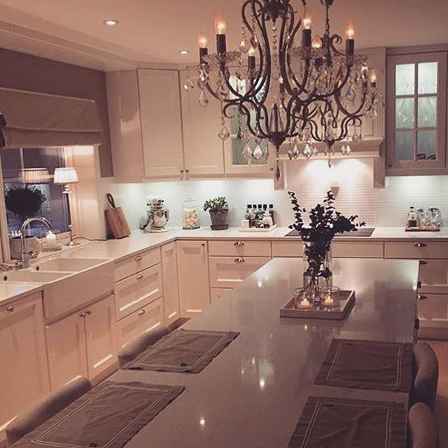White Eat In Kitchen: 25+ Best Ideas About Kitchen Chandelier On Pinterest