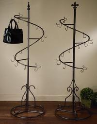 Spiral Purse Display Tree (Scarf, Purse & Fashion Displays)  so cute for HBB's