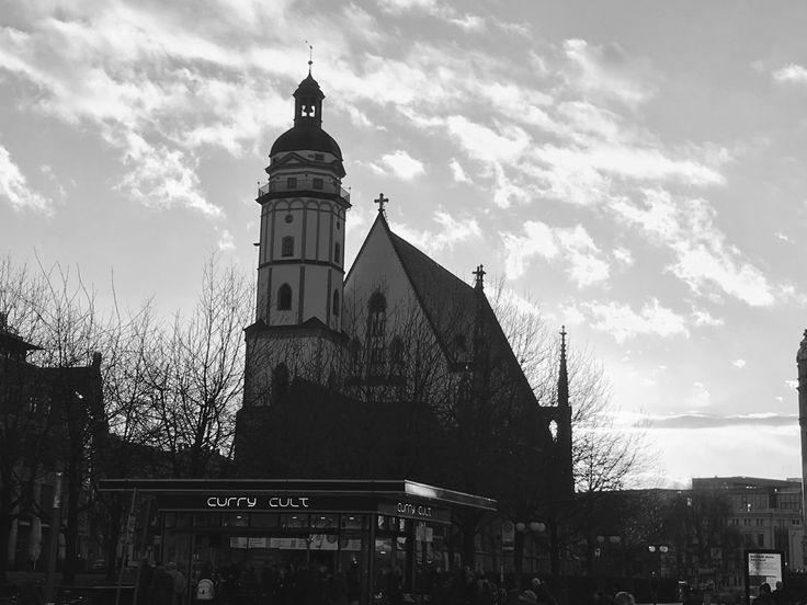Thomaskirche in Leipzig #leipzig #zentrum #sachsen #thomaskirche #blackandwhite