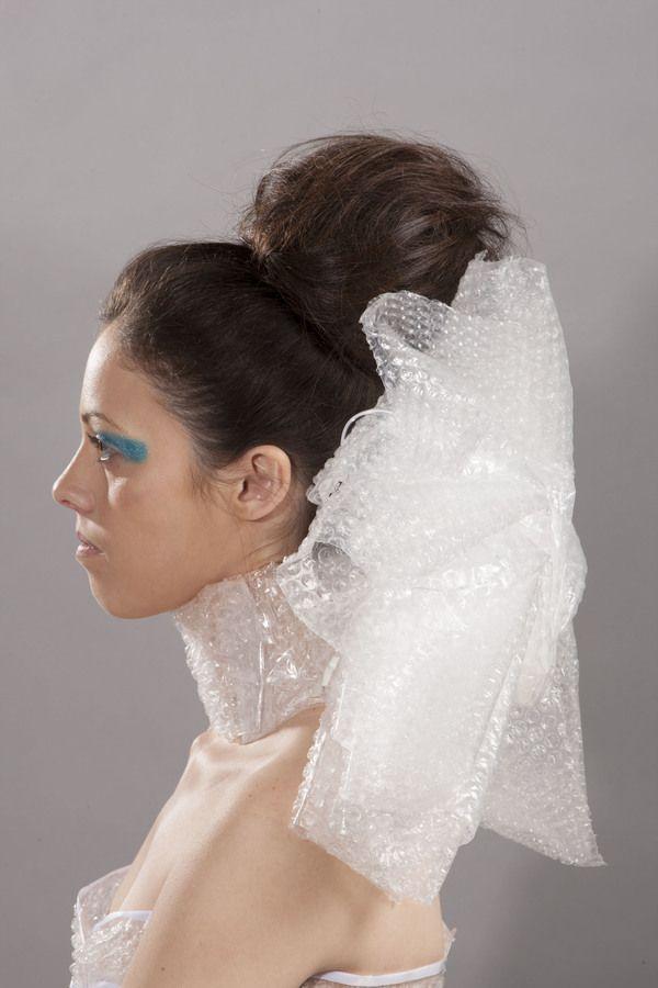Bubble Wrap Dress by Emily Finkbeiner, via Behance