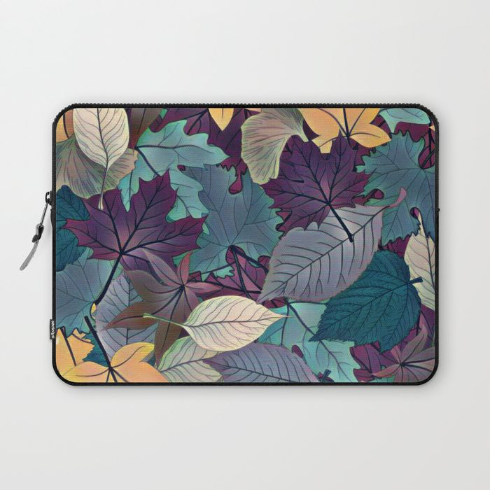 Leafy Goodness Laptop Sleeve by talins   Society6