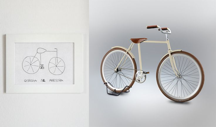 Some Can Draw Bikes From Memory. Some ... Definitely Can't | By putting an artistic spin on the drawings, Gimini's project differs from a psychological test. It is instead a celebration of the ways people can be accidentally creative.  | Credit: Gianluca Gimini | From Wired.com