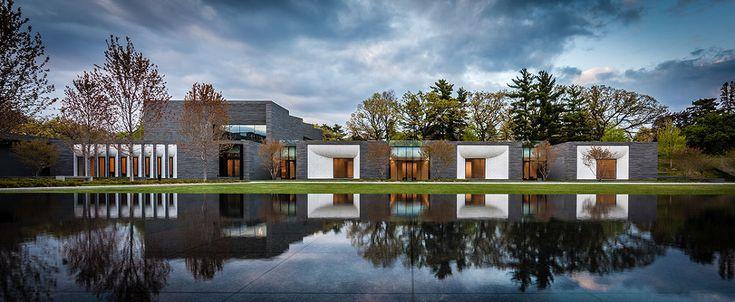 *레이크우드 공동묘지 랜드스케이프 [ Halvorson Design Partnership ] Lakewood Cemetery Garden Mausoleum Landscape