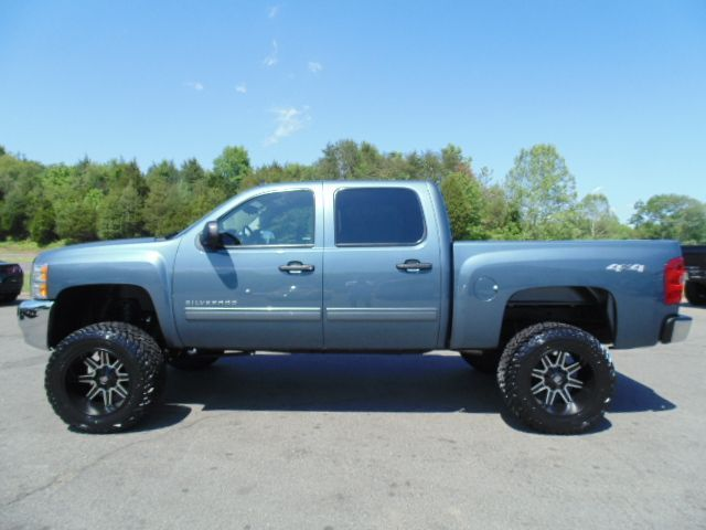 Just Lifted 2013 Chevrolet Silverado 1500 LT 4x4 4dr Crew ...