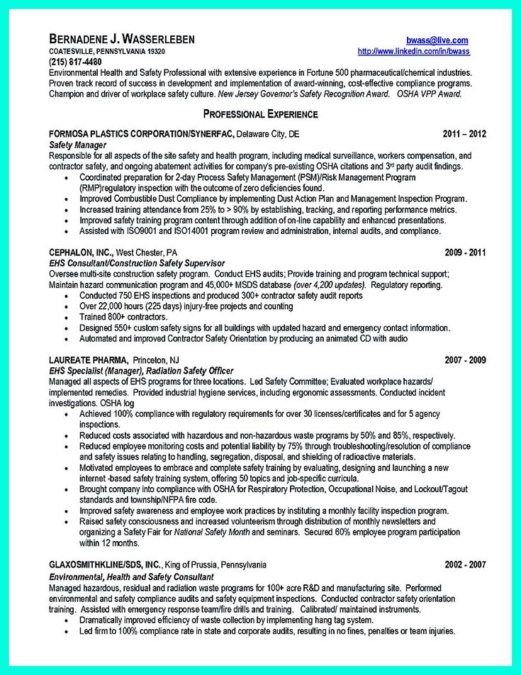 Best compliance officer resume to get managers attention