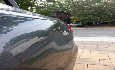 Audi Dent Removal