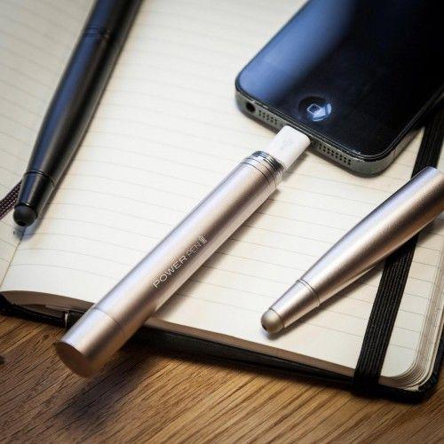 La batteria dello #smartphone dura poco e sei stufo/a di quei bruttissimi #powerBank? Ecco la soluzione: http://www.ideeregalo.club/regali/penna-caricabatterie-oro-metallizzato/ #regali