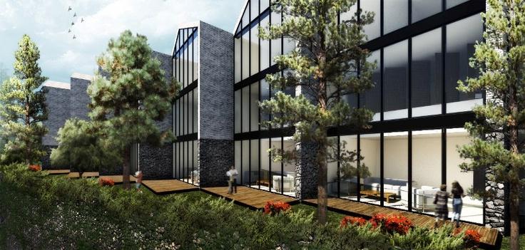 Casas Toro :Carlos Ruiz-Galindo R. Architect