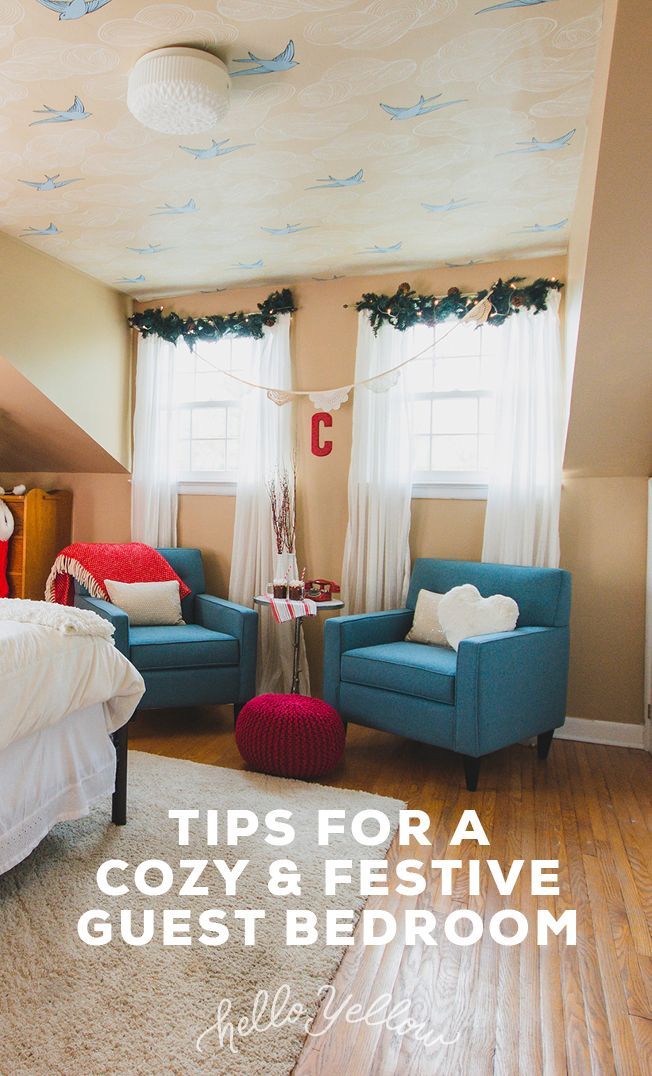 Top Tips for a cozy & festive bedroom. #LeonsHelloHoliday
