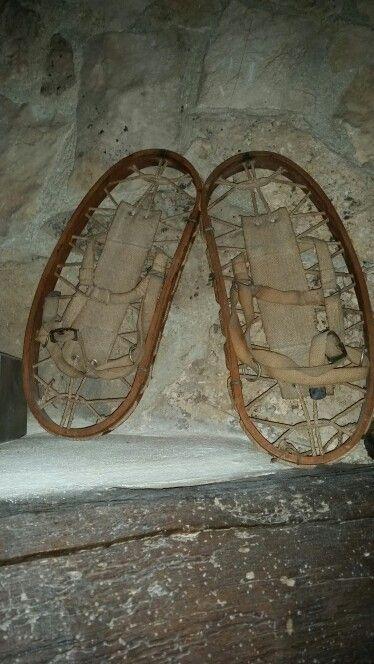 Racchette da neve in legno, Abruzzo Agriturismo Il Portone