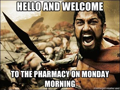 Its #FRIDAY everyone! Take a breather until Monday. #Pharmacy