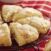 Apricot and White Chocolate Scones recipe from Betty Crocker