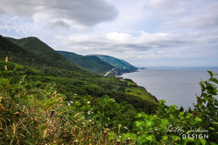 West side of Cape Breton, Cabot Trail, Nova Scotia